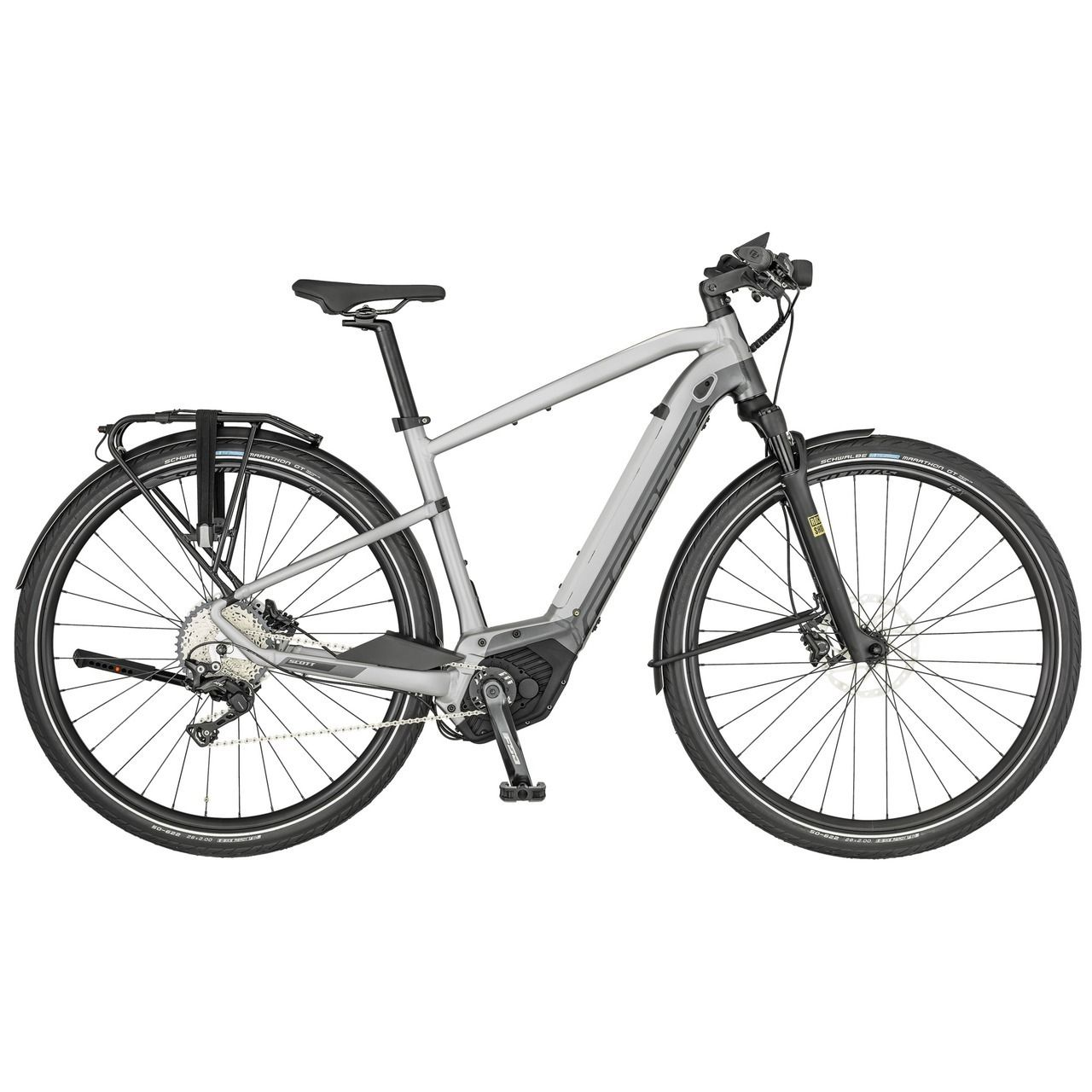 Scott Electric Silence Eride 10 Men 2020 Hybrid Bike