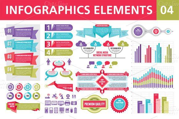 Infographics Elements 04 ~ Presentation Templates on ...