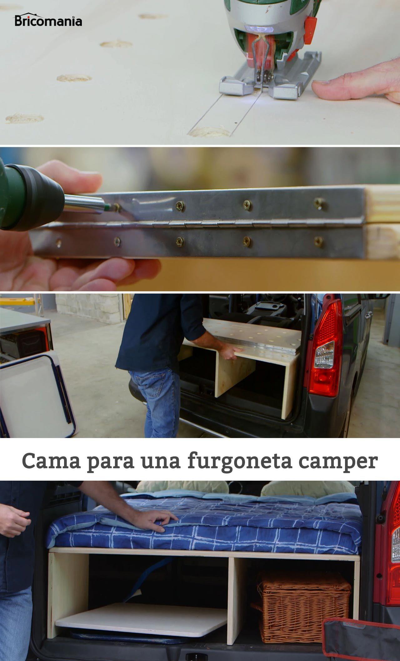 Cómo hacer una cama para una furgoneta camper | Bricolaje ...