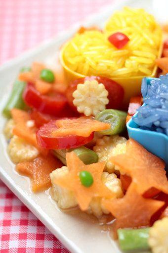 ¡Con un poco de imaginación puedes lograr los platos más lindos!