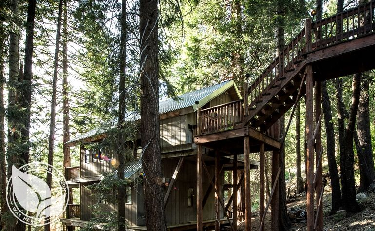 Treehouse Rental In Yosemite Luxury Camping In Yosemite