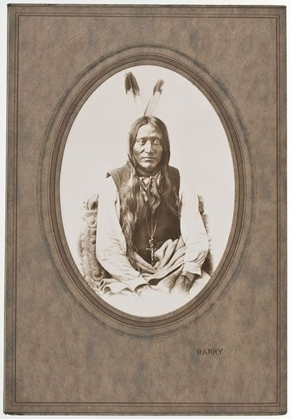 Sitting Bull's Brother, Chief Gray Eagle