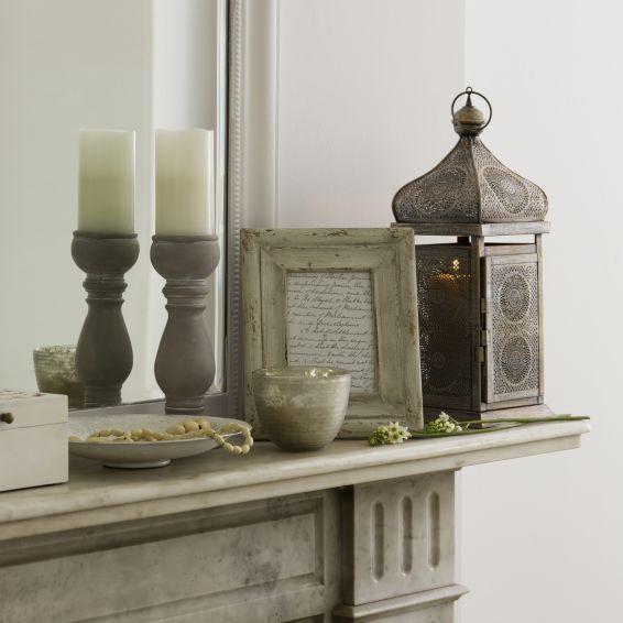 by Sainsburys Small Moroccan-style Lantern - Lanterns - Candles ...