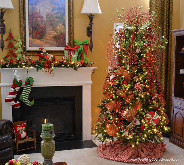 Whimsical Christmas Trees Ideas: Whimsical Christmas Tree...love It!