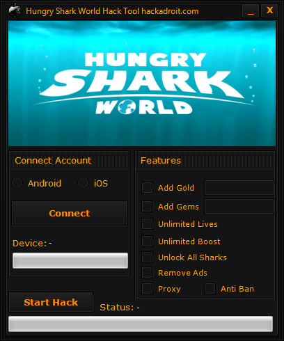 Hungry Shark World Hack Tool Download Free Android Ios Hacks