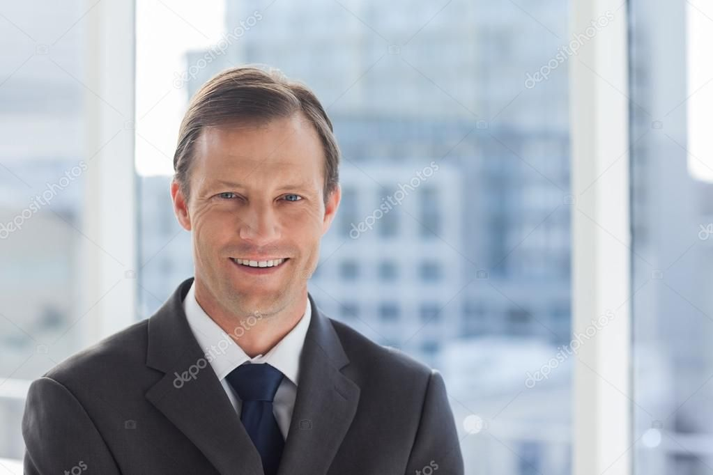 Smiling Businessman In His Office Royalty Free Stock Images Ad