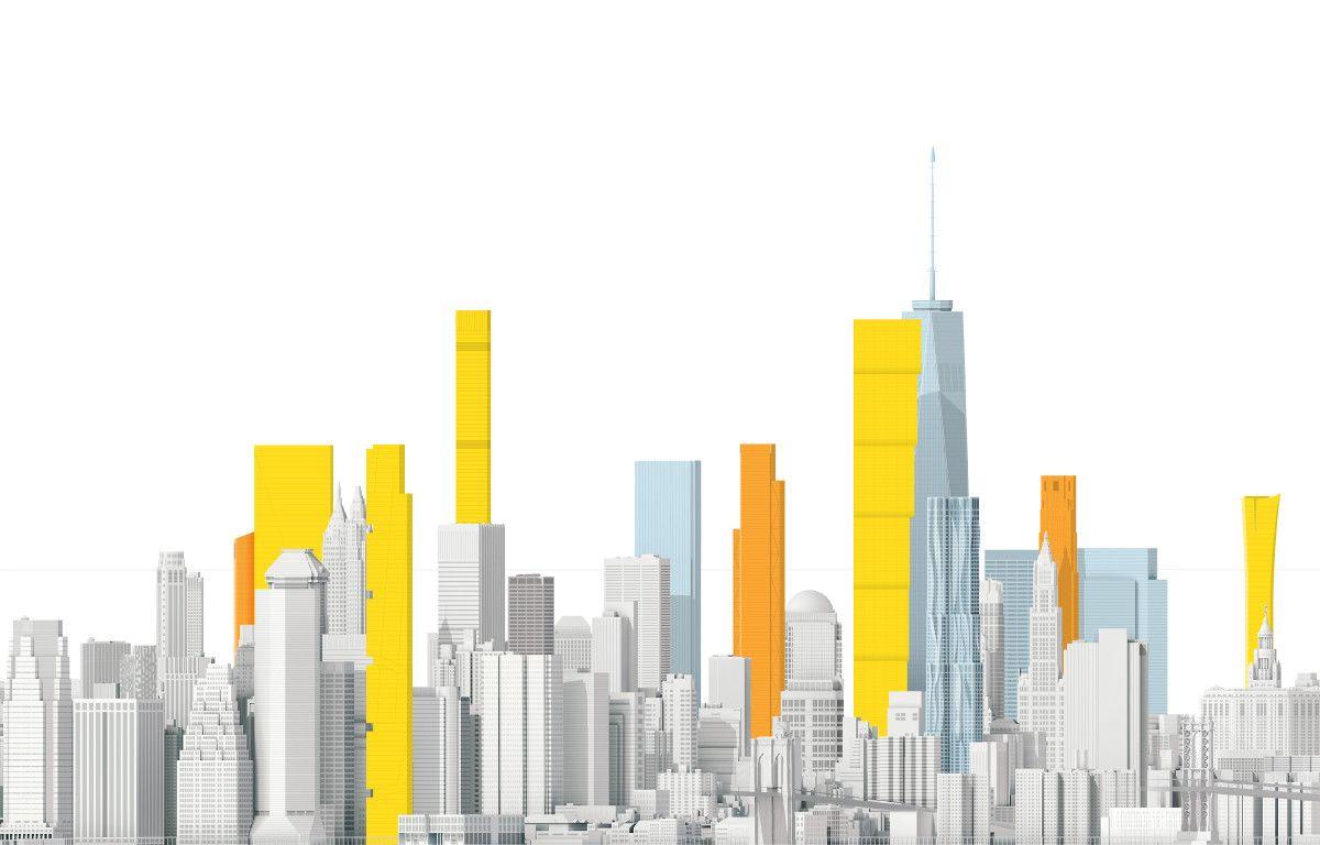 The New New York Skyline. Manhattan continua a crescere… in altezza! - CITYPROJECT