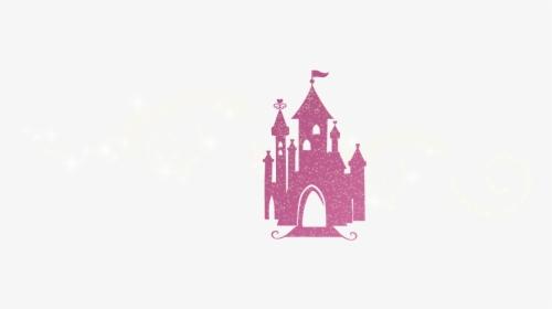 Pink Glitter Disney Castle Hd Png Download Disney Castle All Disney Characters Glitter Images