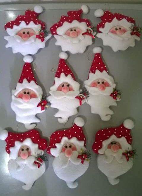 Colgantes navide os para decorar el arbol de navidad - Manualidades para decorar el arbol de navidad ...