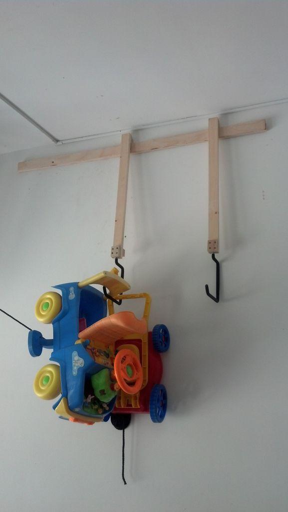 French Cleat Storage System   Adjustable Hanging Garage Storage System