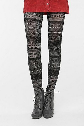 Fairisle Sweater Tight | Urban outfitters, Urban and Sweater tights