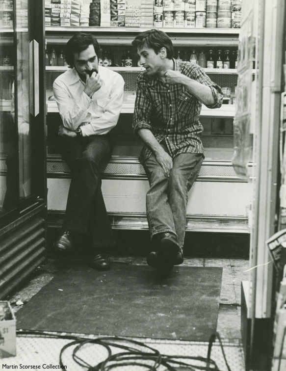 Robert De Niro and Martin Scorsese on the set of Taxi Driver, 1976 pic.twitter.com/BNyRiEMzlJ