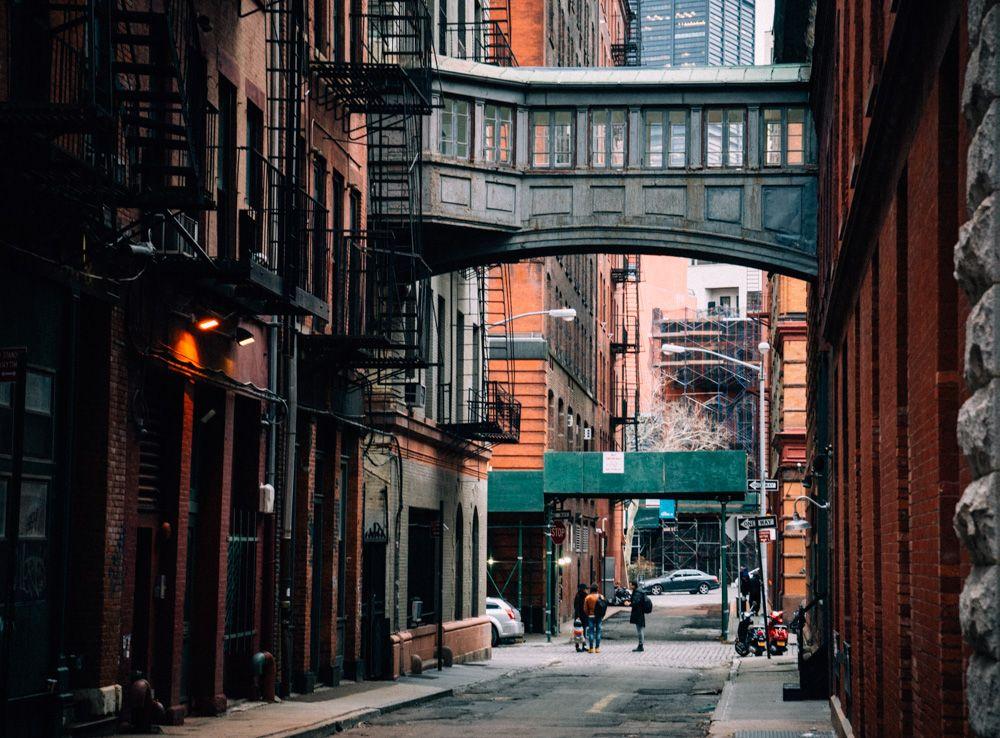 hidden spot in Tribeca