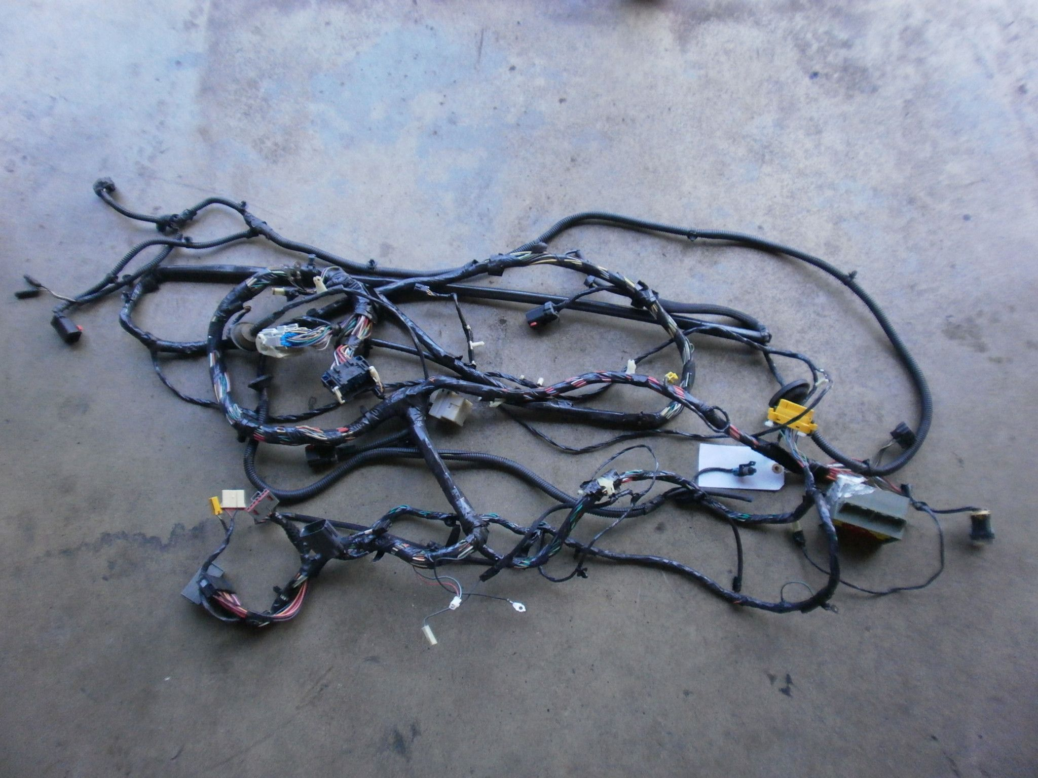 Jeep Wrangler Tj Wiring Cross Body Harness 2005 P56050731ac Oem Good Fuse Box Used 24 40