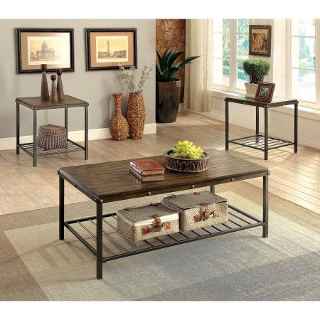 Home In 2020 Coffee End Tables 3 Piece Coffee Table Set