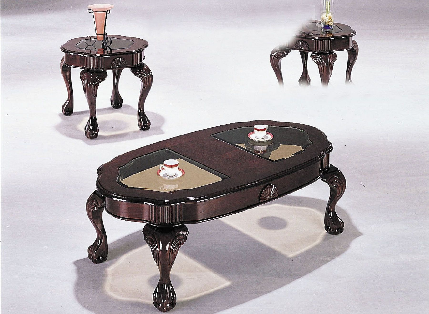 Canebury Coffee Table 2 End Tables 08195 Acme Corporation Coffee Tables Coffee Table Glass Top Coffee Table Glass Top Coffee Table Set [ 1319 x 1800 Pixel ]