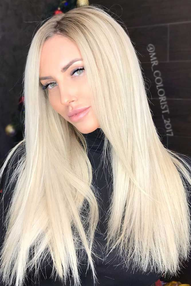 Caramel Balayage Highlights Straight Hair Best Platinum Blonde Hair Ideas For 2020 Platinum Blonde