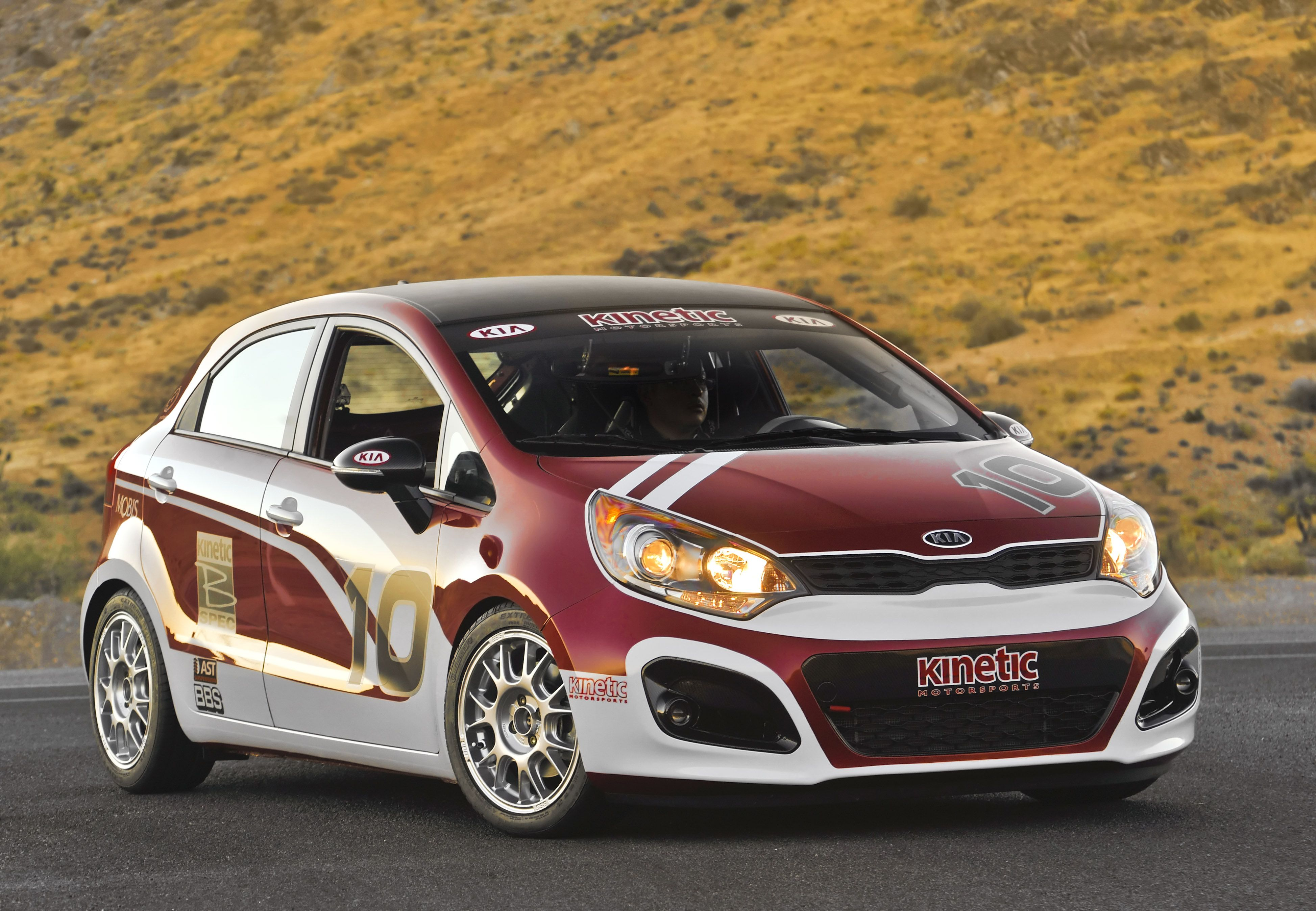 The Rio 5 Door B Spec Racecar Will Compete Against A Variety Of