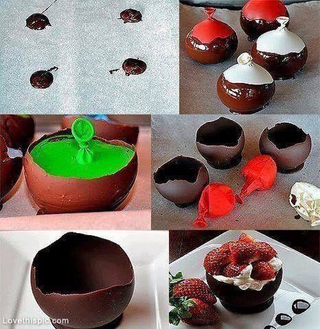 Diy chocolate balloon dessert sweets chocolate strawberries dessert diy chocolate balloon dessert sweets chocolate strawberries dessert balloon diy diy ideas diy crafts do it solutioingenieria Gallery