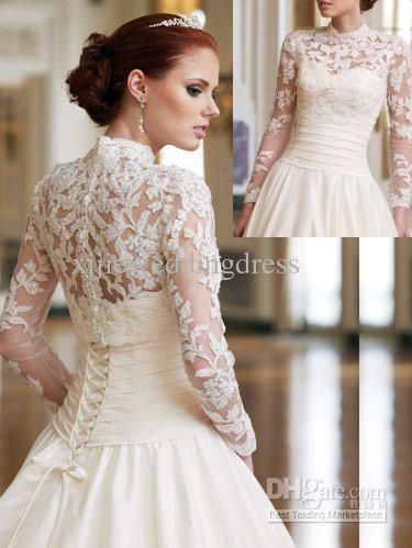 Whole 2017 Factory High Quality Long Sleeve Collar Lace Liqued Beaded Bride Bolero Jacket Free Shipping 41 42 61 36 Piece Dhgate