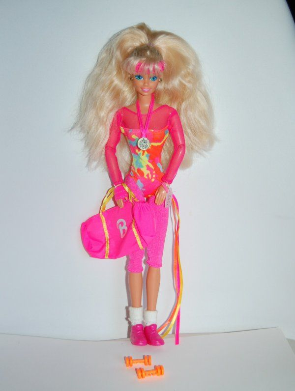 Barbie gymnast 1993