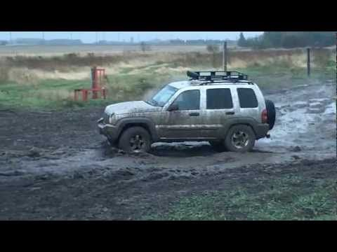 Mudding Jeep Liberty Off Road Tires Offroad
