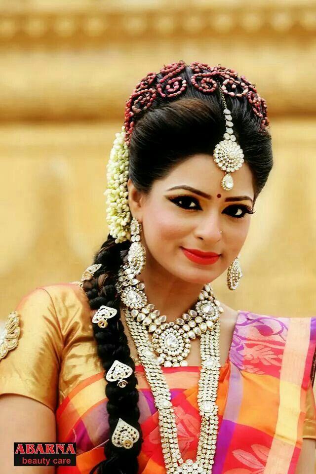 Srilankan Tamil Bride Indian Bridal Hairstyles Hair Styles Baby Girl Hairstyles