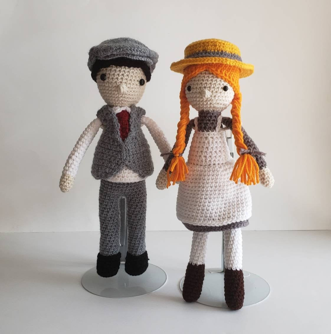 Set Of Anne Shirley And Gilbert Blythe Dolls Anne Of Green Gables