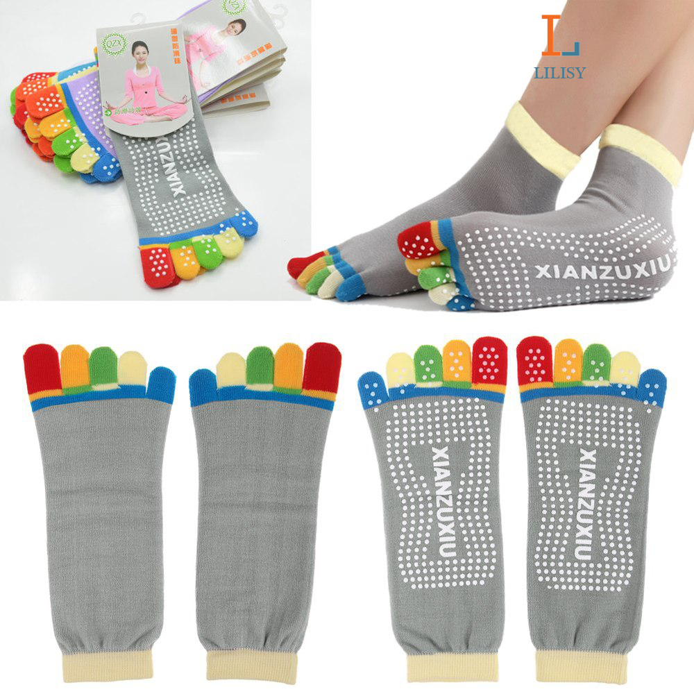 Yoga Socks Fashion Sport Gym Fitness pilates Socks Five Finger Toe NoSlip Foot M 2015 shirts https://www.sunfrog.com/Best-Sellers/?7833