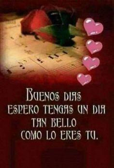 Buenos Dias Amor 【Imagenes Y Frases】