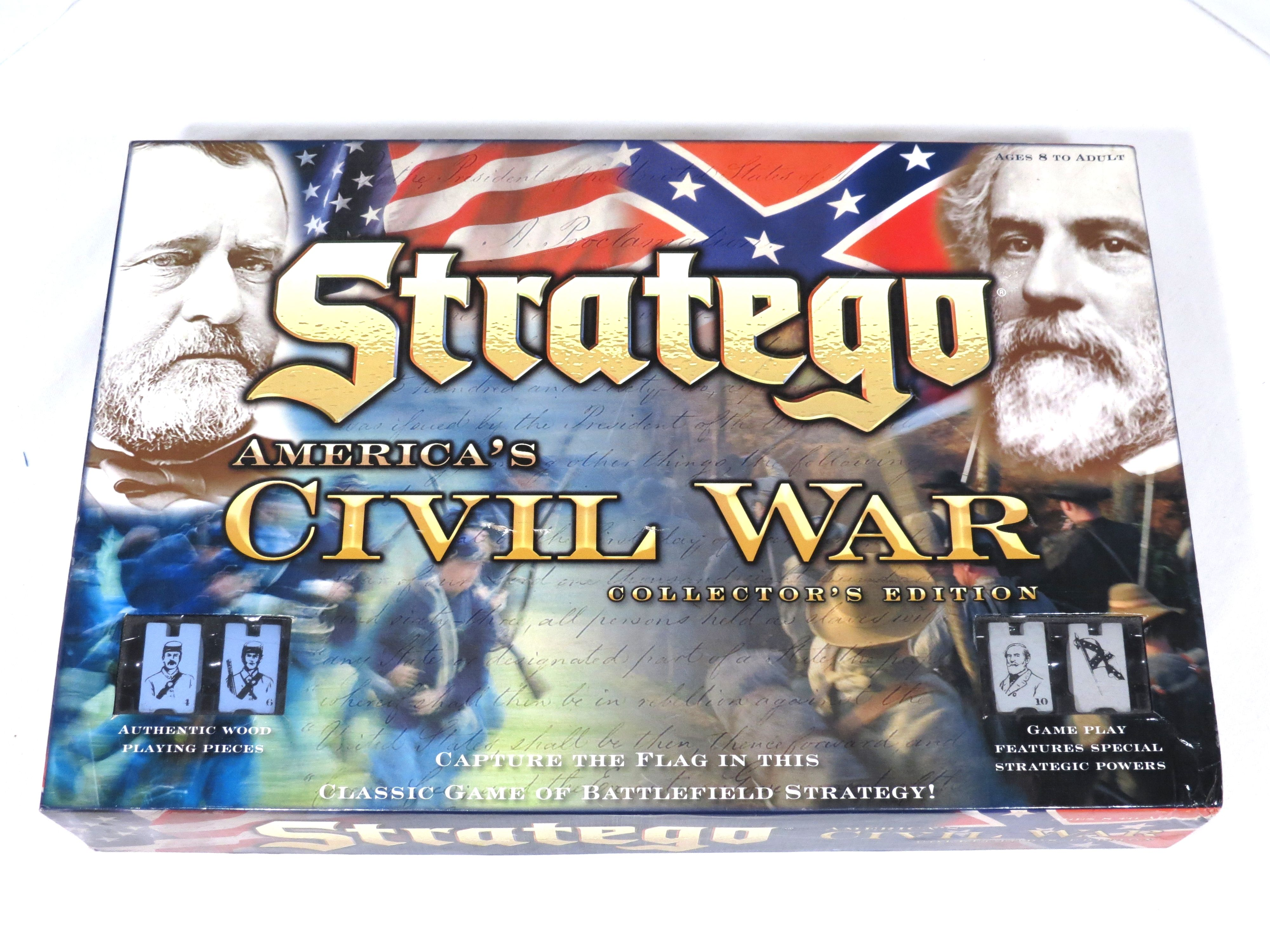 Stratego AmericasCivilWar Board Game by Hasbro 2007