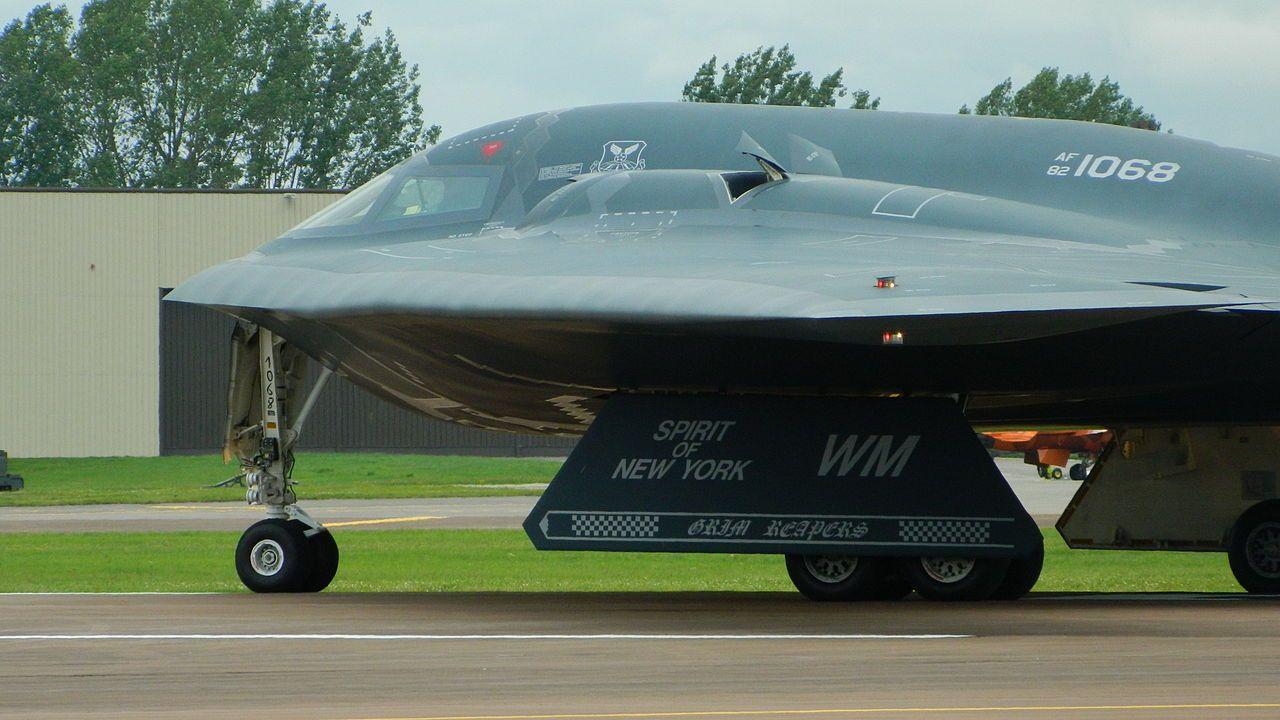 821068B2Spirit0349 Northrop Grumman B2 Spirit