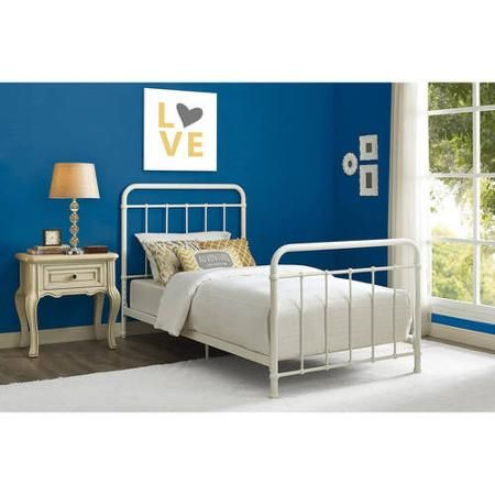 Better Homes and Gardens Kelsey Twin Metal Bed, Multiple Colors ...