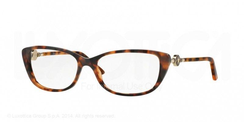 5f37817c85 Lunette de vue VERSACE VE3206 944 femme - prix 147€ - KelOptic · Versace  EyeglassesEye FramesHavanaGlasses