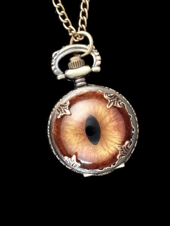 Sightmares Mini Eye Actual Working Pocket by DrBrassysSteampunk, $49.01