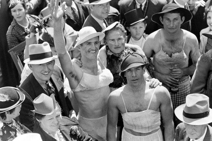 Mardi Gras 1930s: William Vandivert