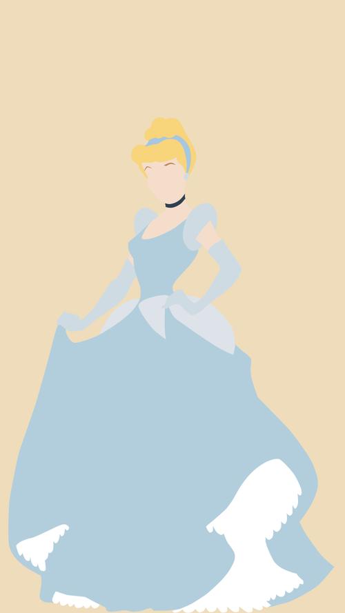 Cinderella minimalist wallpaper (With images)   Cinderella ...