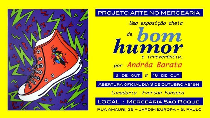 03/10 ♥ Projeto Arte no Mercearia ♥ Uma Exposição cheia de Bom Humor e irreverência por Andréa Barata  http://paulabarrozo.blogspot.com.br/2016/10/0310-projeto-arte-no-mercearia-uma.html