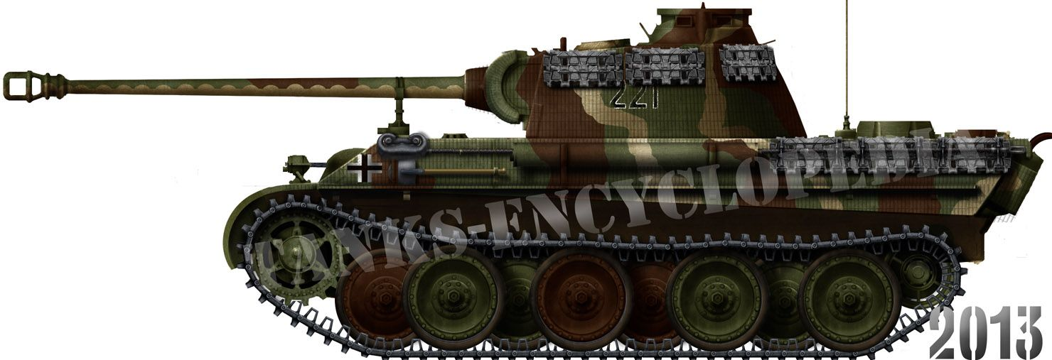 Early Panther Ausf.G, Belgium