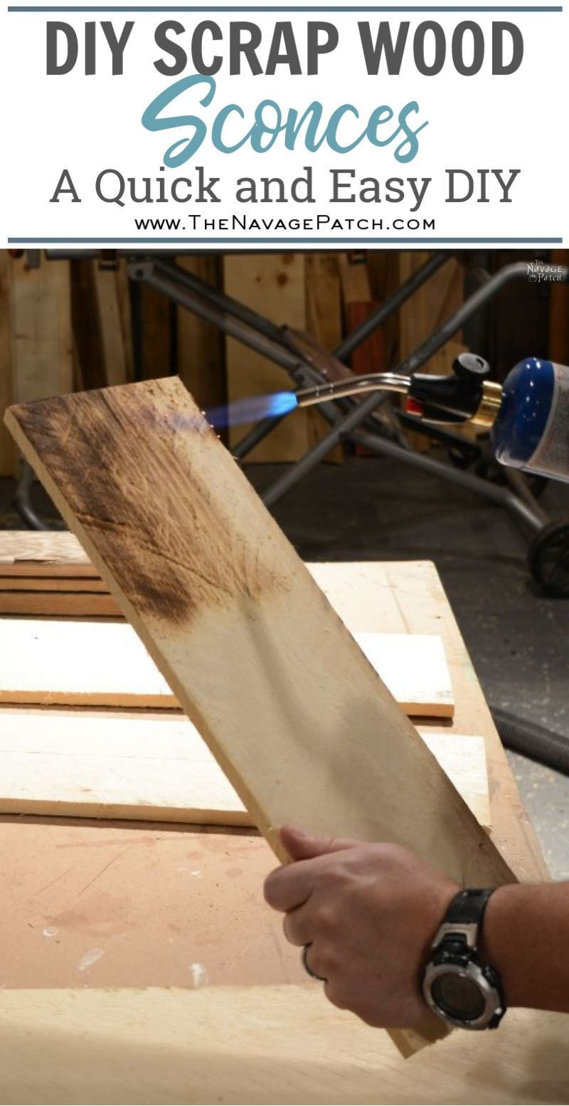 Diy wall sconces from scrap wood wood sconce diy wall wood
