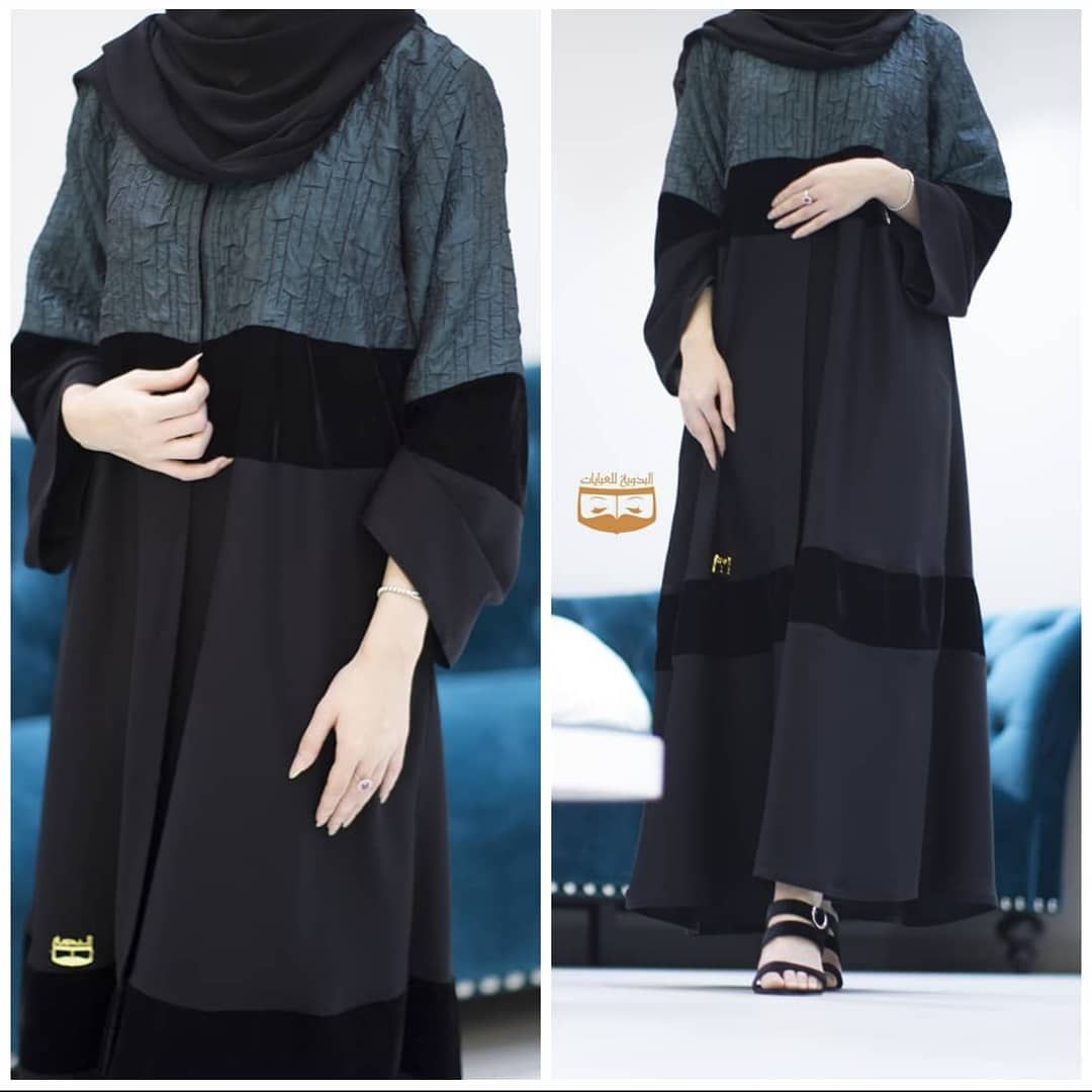 عباية التركواز تفصيل للتواصل واتس ٠٠٩٦٨٩٩٥١٦٥٣٣ Abaya Fashion Abaya Dress Clothes Design