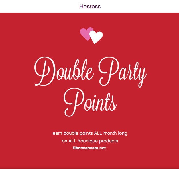 Host a Party with me!  Double Party Point February 2015!! More chances to get half price and free products! http://fibermascara.net