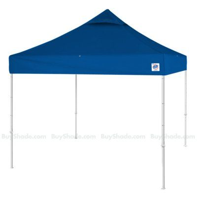 If youu0027re searching for a long-lasting crowd-stopping portable canopy with instant setup the E-Z Up Eclipse Vented pop up tent is for you.  sc 1 st  Pinterest & BuyShade E-Z Up Vented Top in Royal Blue with White Steel legs ...