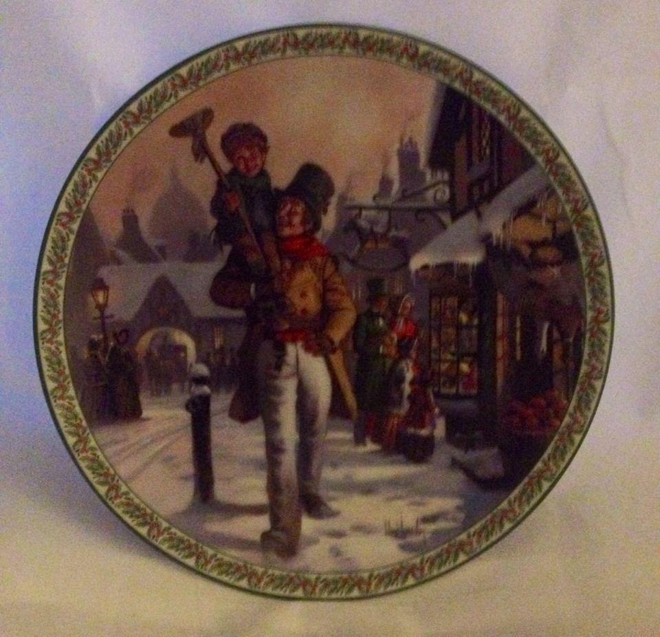 A Christmas Carol God Bless Us Everyone Bradford Exchange Lloyd Garrison | Christmas Decor ...