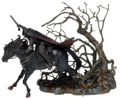 Mcfarlane Sleepy Hollow Headless Horseman 3 Piece Deluxe Box
