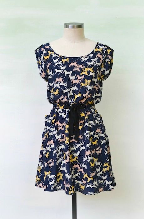 Bow & Gallop Dress- Only 2 Left!