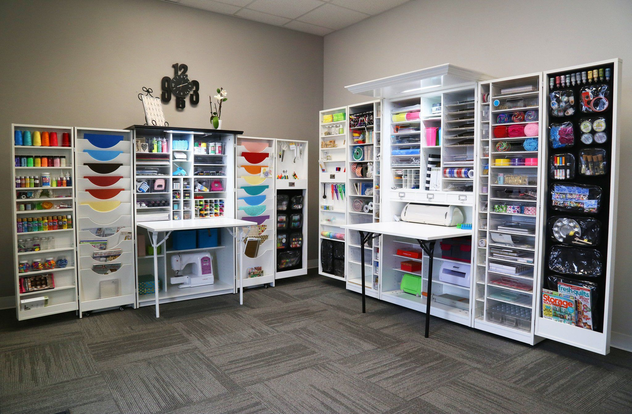 The Workbox 3 0 Vs Her Hobbybox Scrapbook Room Organization Dream Craft Room Craft Room