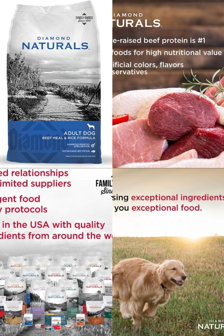 Diamond naturals dog food in 2020 natural dog food dog