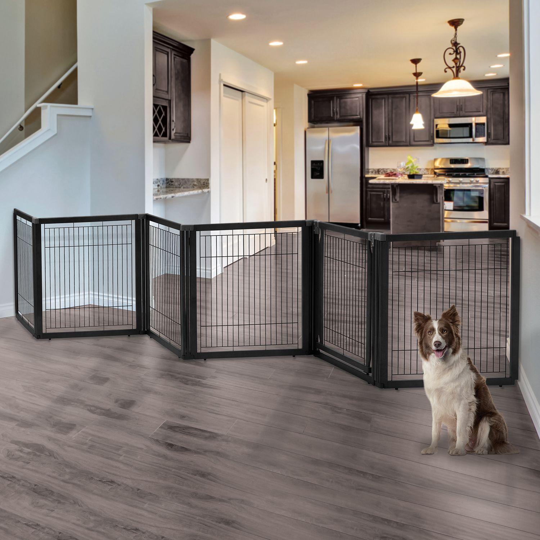 Dog gates pet gates pet crates pet pen room divider zigzag