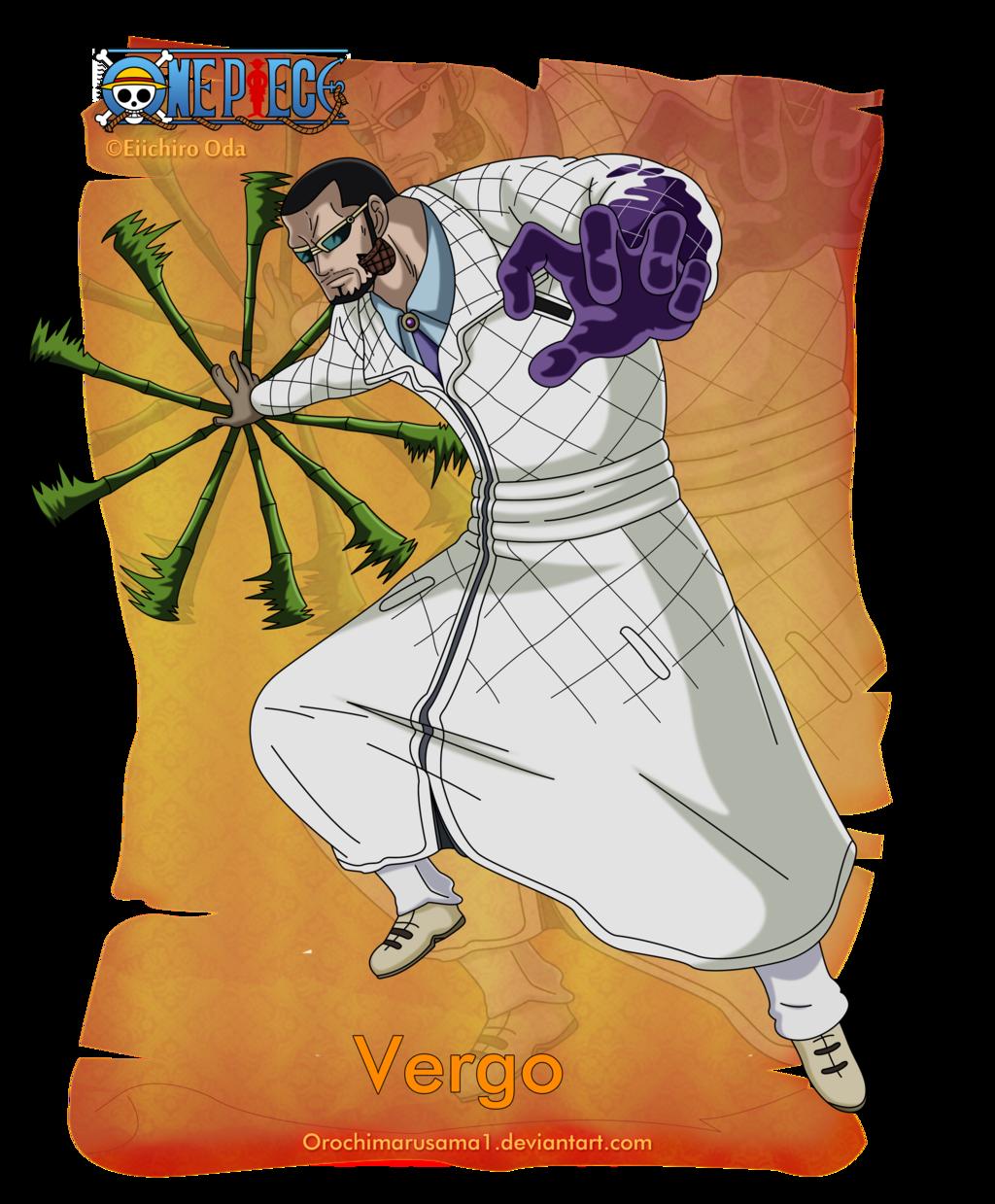 Vergo by orochimarusama1 on deviantART | One piece, One piece anime,  Digital artist